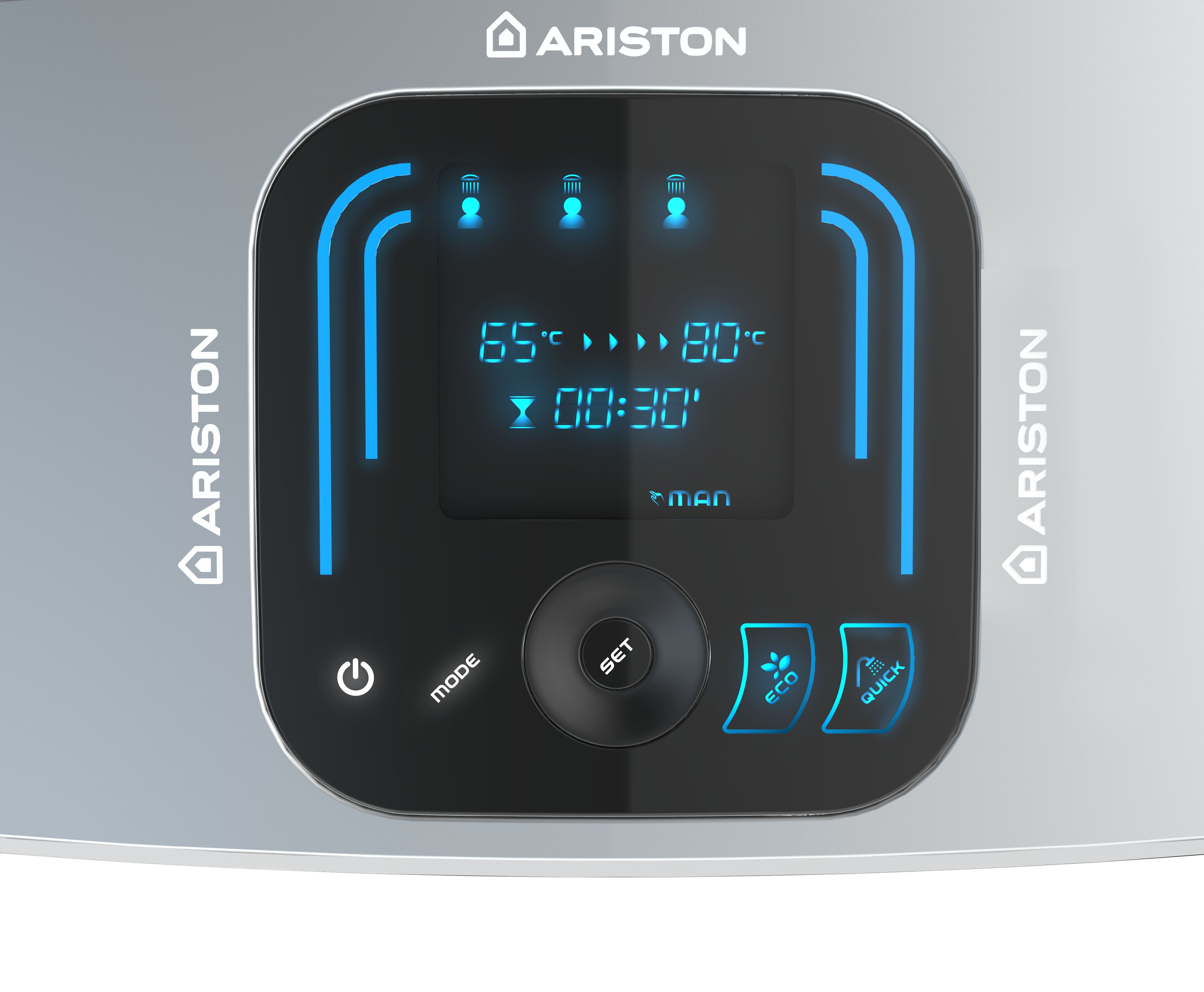 Электроводонагреватель Ariston ABS VLS EVO INOX QH 50